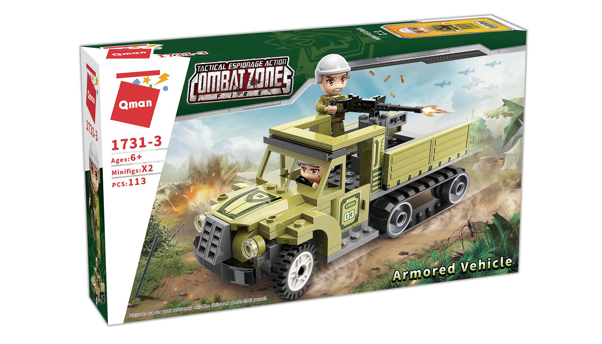 Qman Combat Zone 1731-3 Obrněné vozidlo
