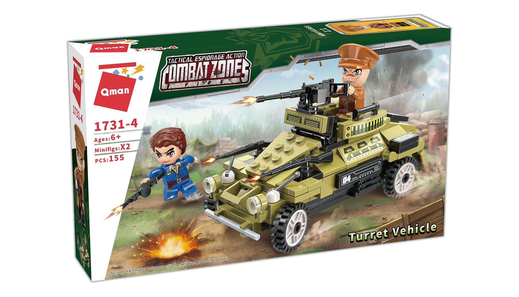 Qman Combat Zone 1731-4 Útočné vozidlo