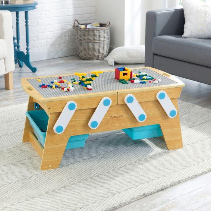 KidKraft Stůl na stavění s boxy
