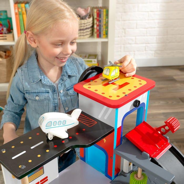 KidKraft Hrací stůl zavodní dráha Freeway Frenzy