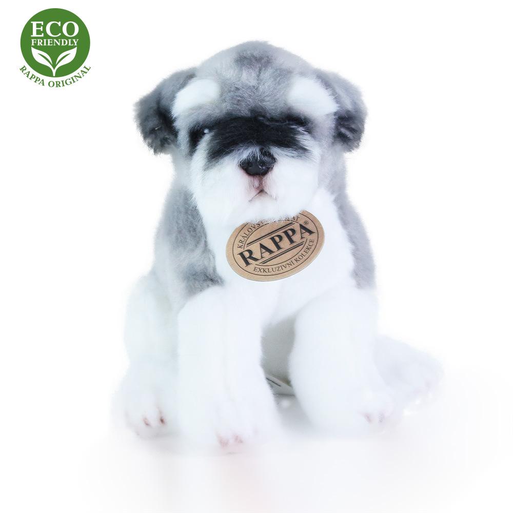 Rappa Plyšový pes 20 cm ECO-FRIENDLY 1 ks knírač