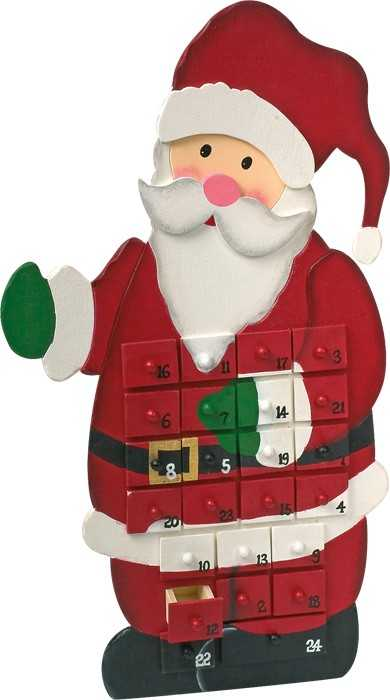 Small Foot Adventní kalendář Santa Claus