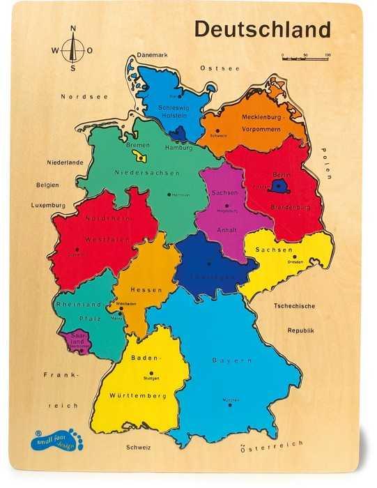 Small Foot  Vkládací puzzle puzzle Německo