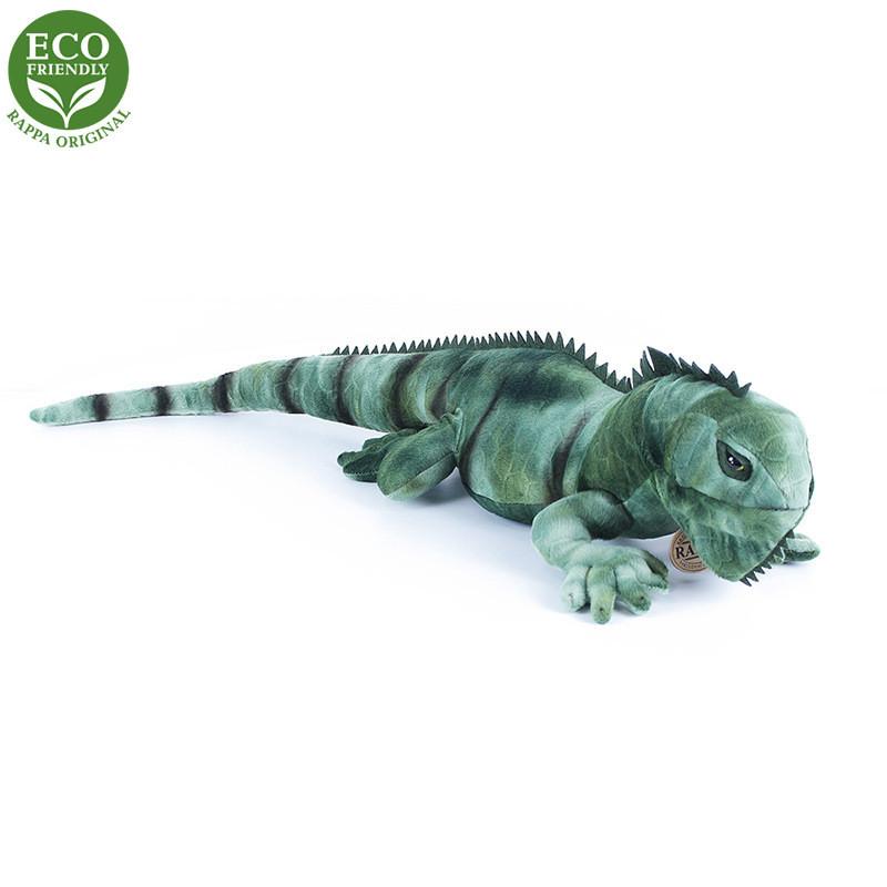 Rappa Plyšový leguán zelený 70 cm ECO-FRIENDLY