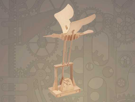 ARToy Stavebnice pohyblivého modelu vznášení