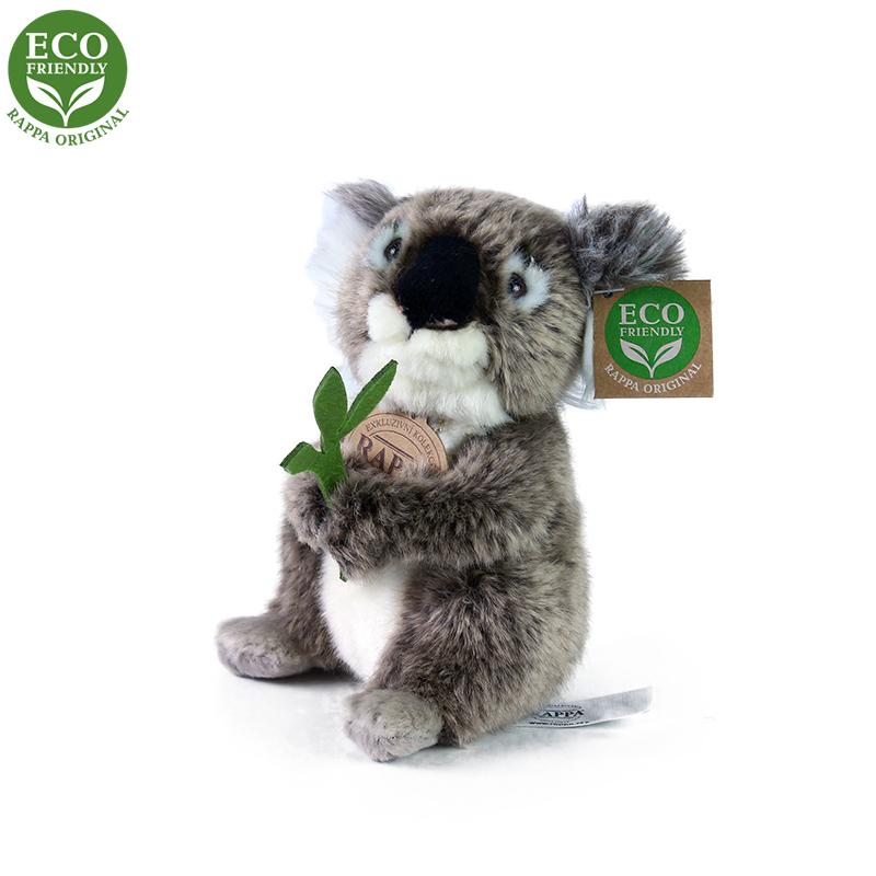Rappa Plyšová koala sedící 15 cm ECO-FRIENDLY