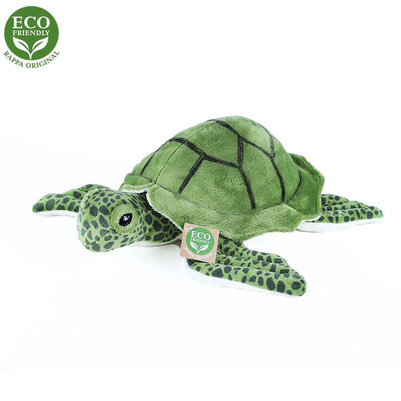 Rappa Plyšová želva mořská 25 cm ECO-FRIENDLY