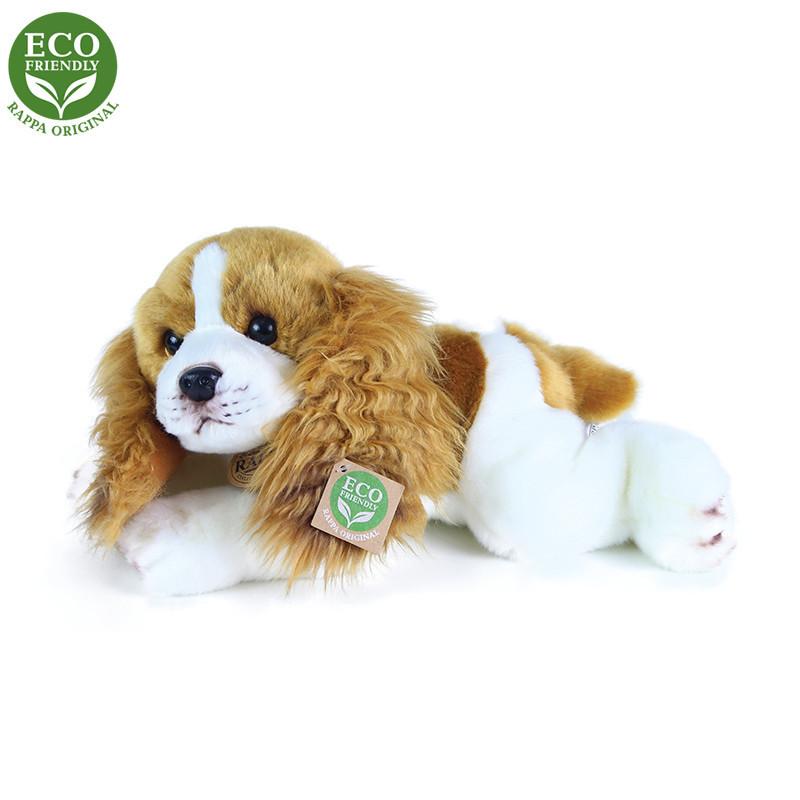 Rappa Plyšový pes Kokršpaněl ležící 30 cm ECO-FRIENDLY