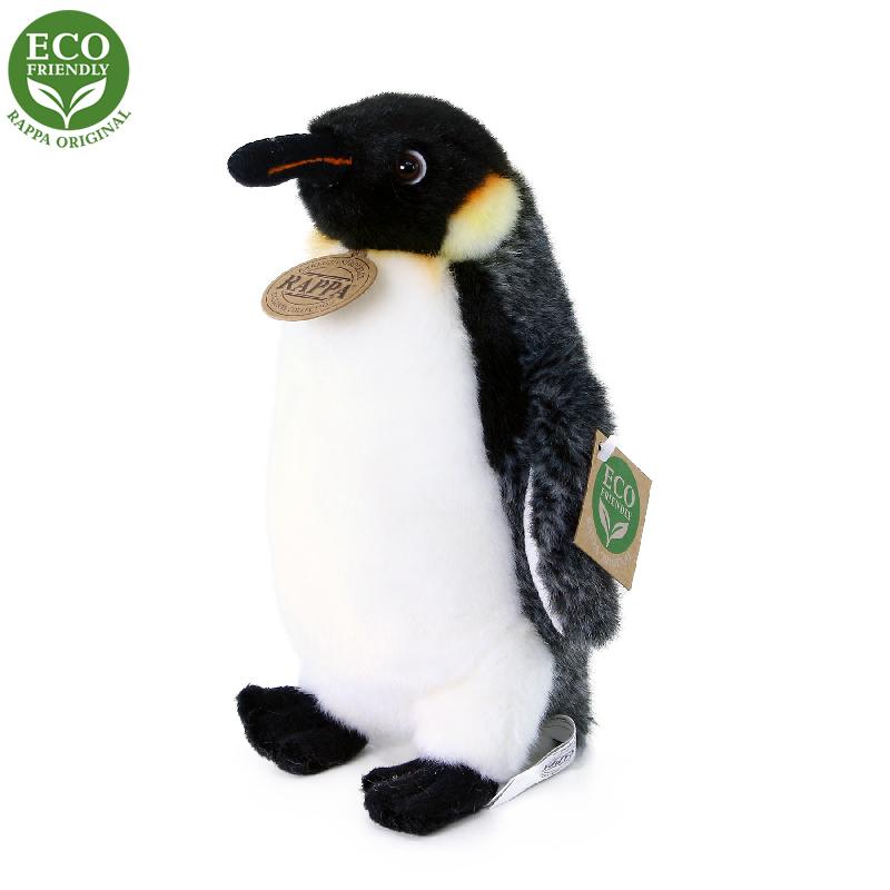 Rappa Plyšový tučňák stojící 20 cm ECO-FRIENDLY