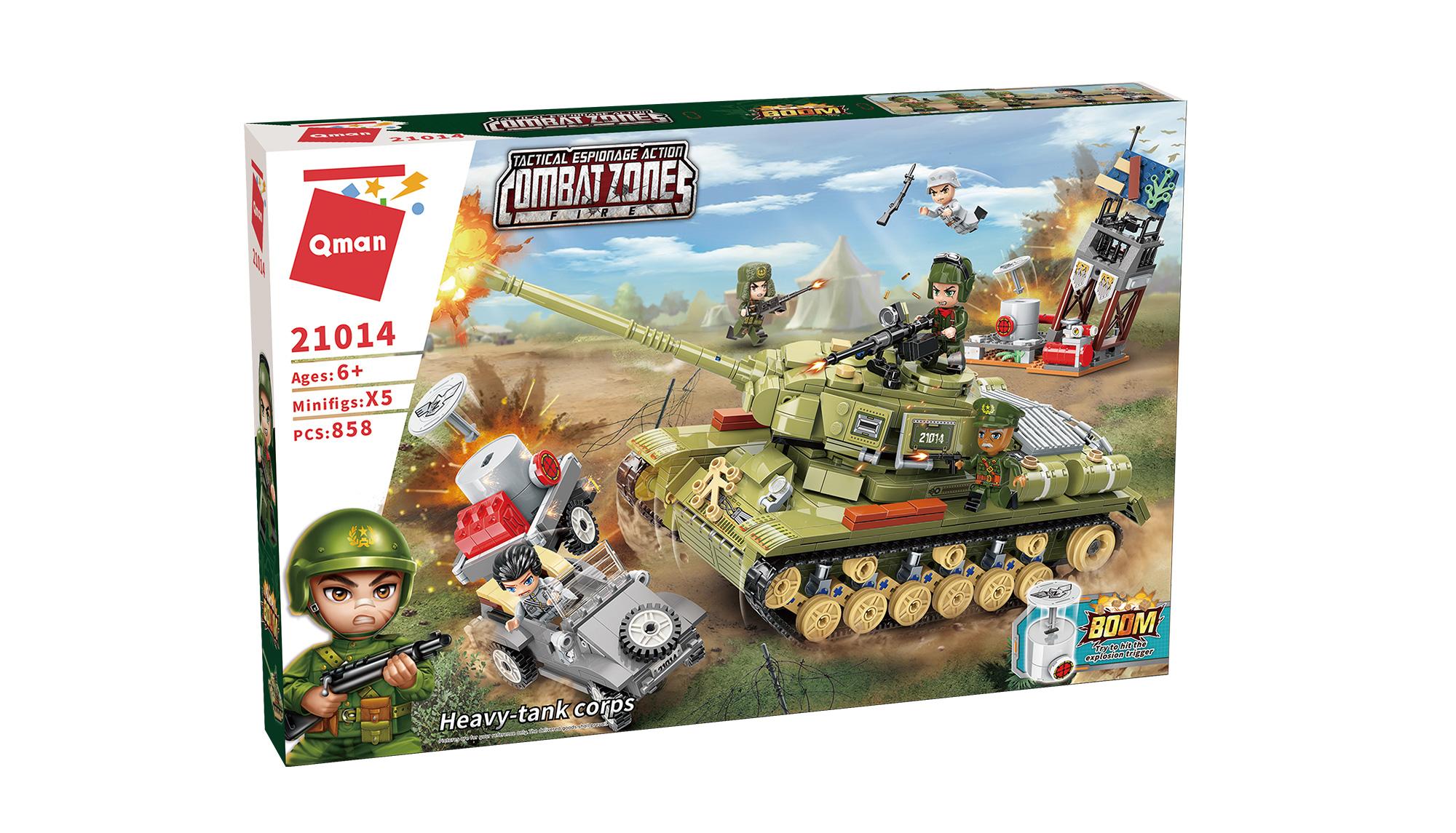 Qman Combat Zone 21014 Tankový sbor