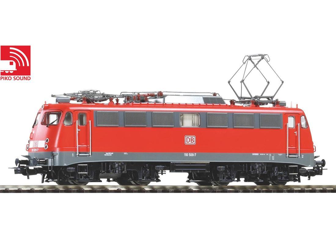 Piko Elektrická lokomotiva BR 110 509-7 se zvukovým dekodérem V - 51802