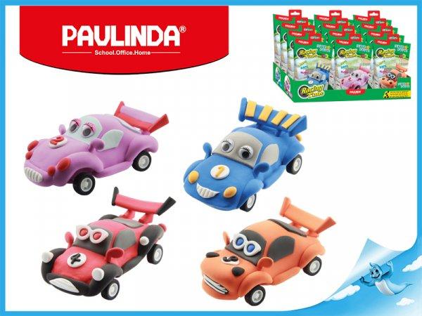 Paulinda modelovací hmota Racing Time auto - modré