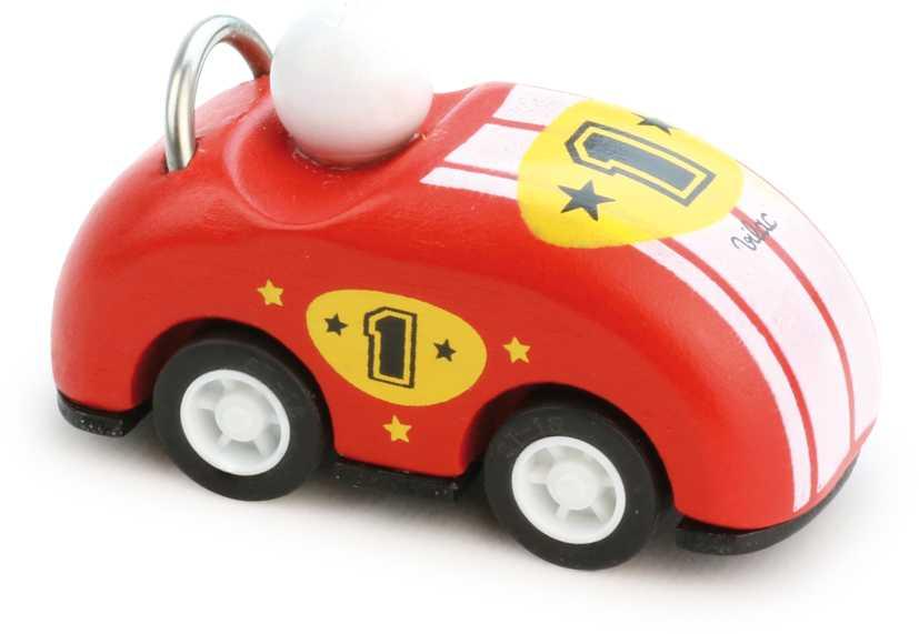 Vilac Dřevěné závodní auto kabriolet na natahování