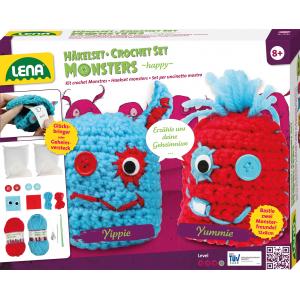 LENA Pletací monster Happy