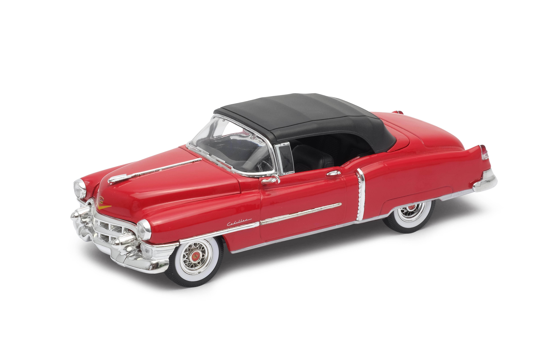 Welly - Cadillac Eldorado (1953) soft  model 1:24 červený
