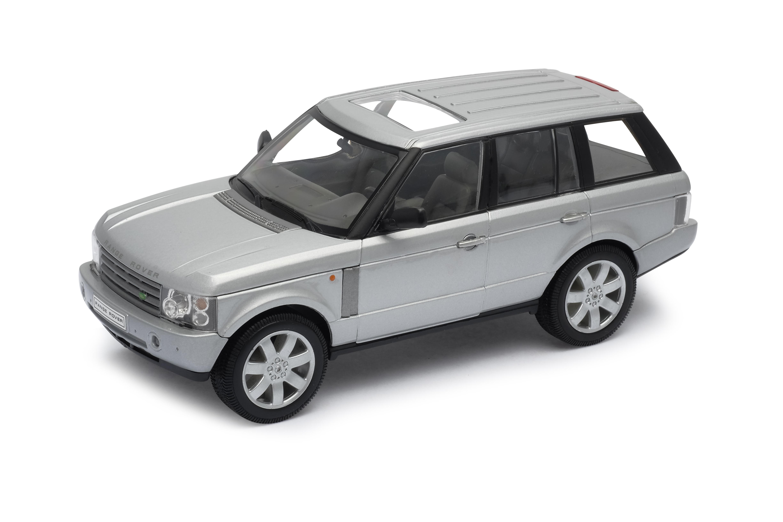 Welly - Land Rover Range Rover 1:24 stříbrný