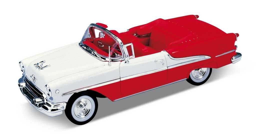 Welly - 1955 Oldsmobil super 88 1:24 červený