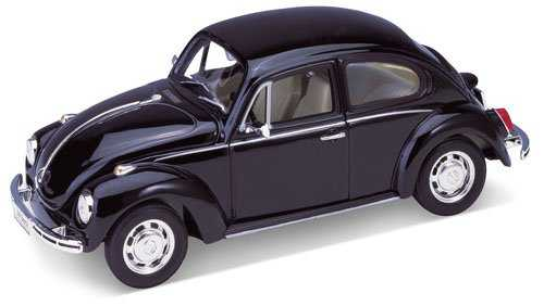 Welly - Volkswagen Beetle Hard top model 1:24 černý