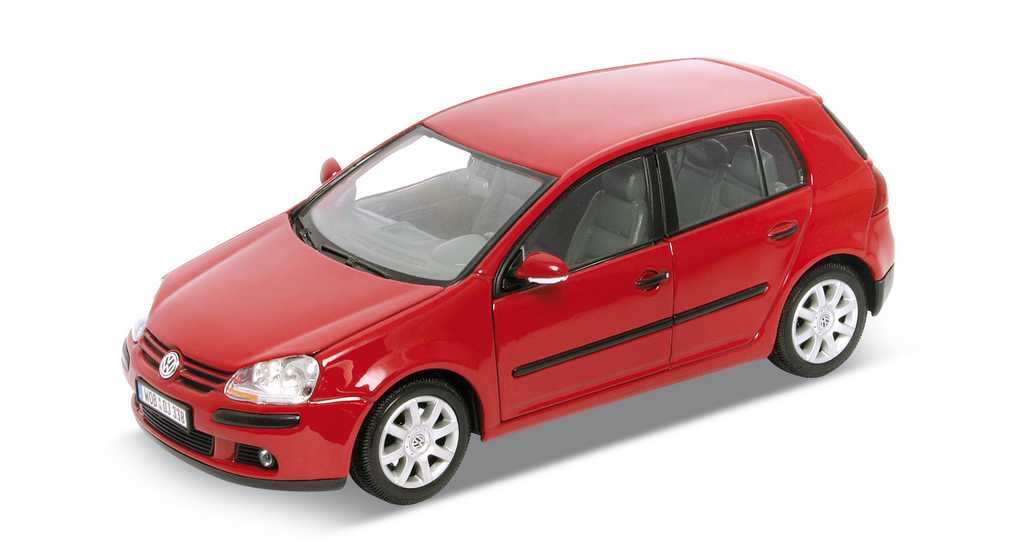 Welly - Volkswagen Golf V 1:24 červený