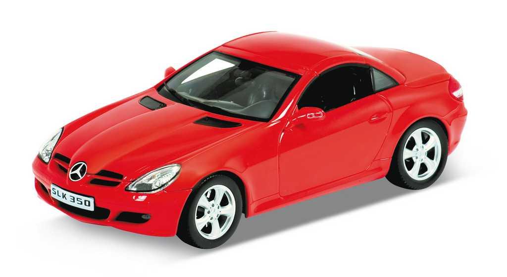 Welly - Mercedes SLK 350 1:24 červený