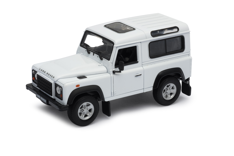 Welly - Land Rover Defender 1:24 bílý