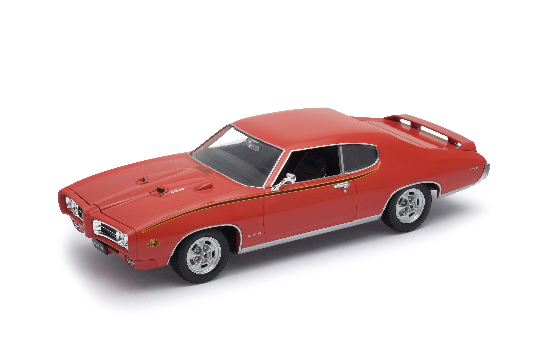 Welly - Pontiac GTO (1969) model 1:24 oranžová