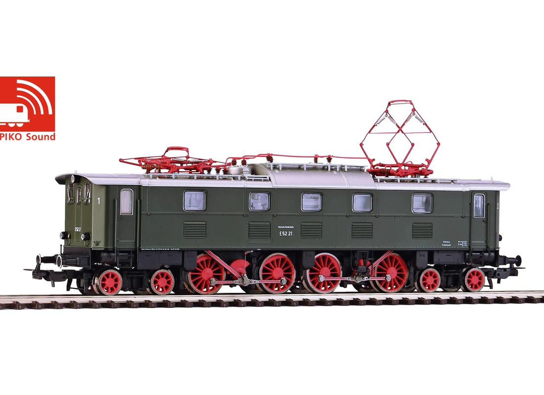 Piko Elektrická lokomotiva E 52 se zvukem a dekodérem III - 51822