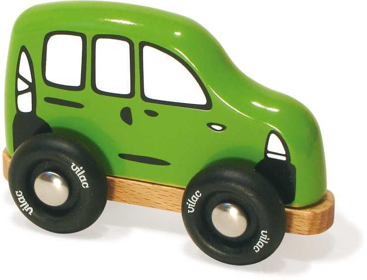 Dřevěná hračka Vilac - Dřevěné rodinné auto