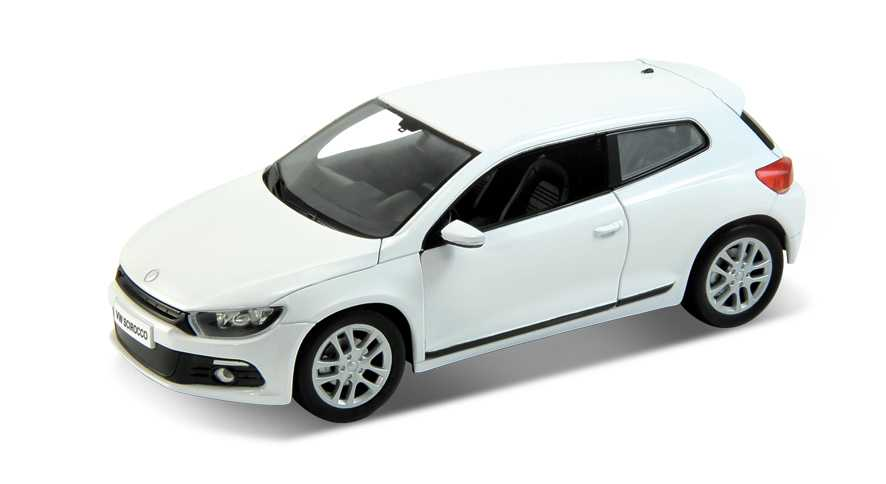 Welly - VW Scirocco 1:24 bílý