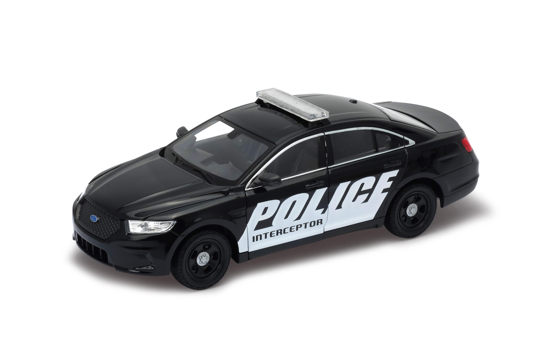 Welly - Ford Interceptor Police  model 1:24 Black