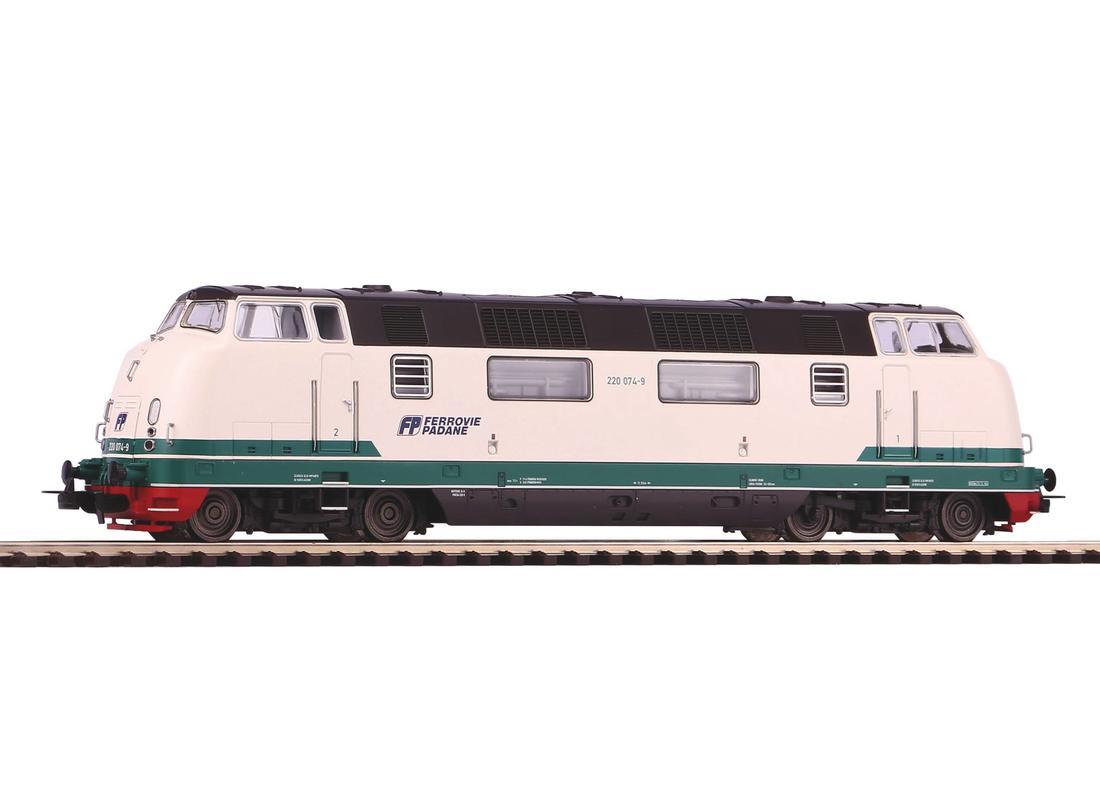 Piko Dieselová lokomotiva BR 220 Ferrovie Padana IV - 59716