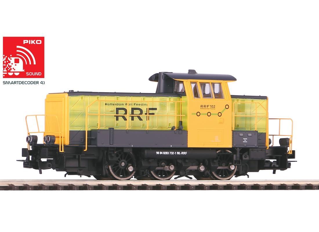 Piko Dieselová lokomotiva 102 RRF se zvukovým dekodérem VI - 96468