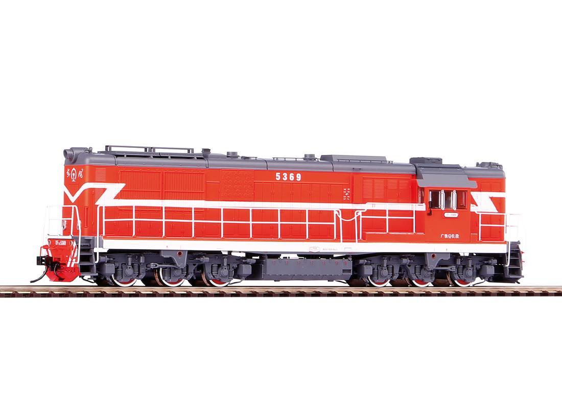 Piko Dieselová lokomotiva DF7C Guangzhou Railway - 52708