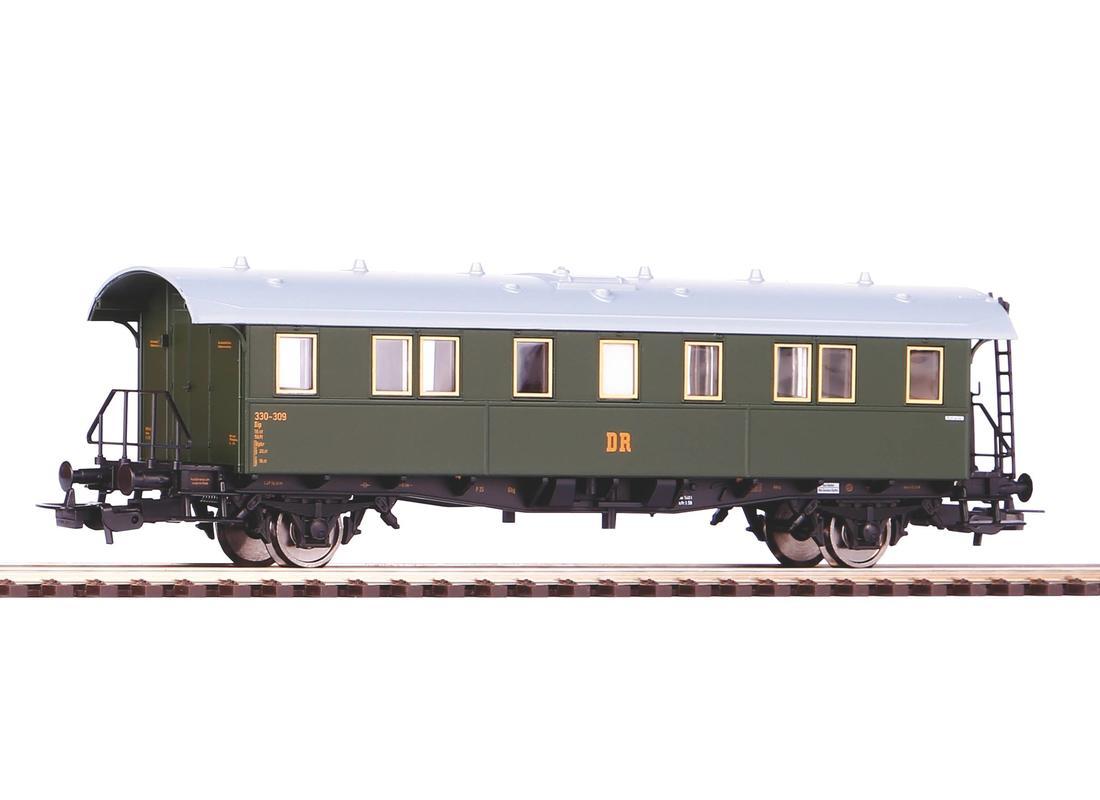 Piko Osobní vagón DR B III zelený - 53183