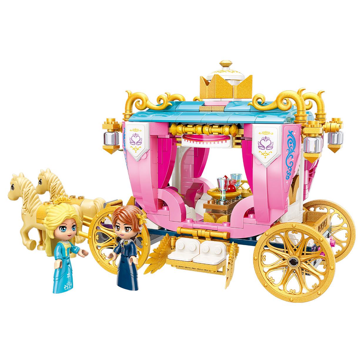 Qman Princess Leah 2614 Královský kočár