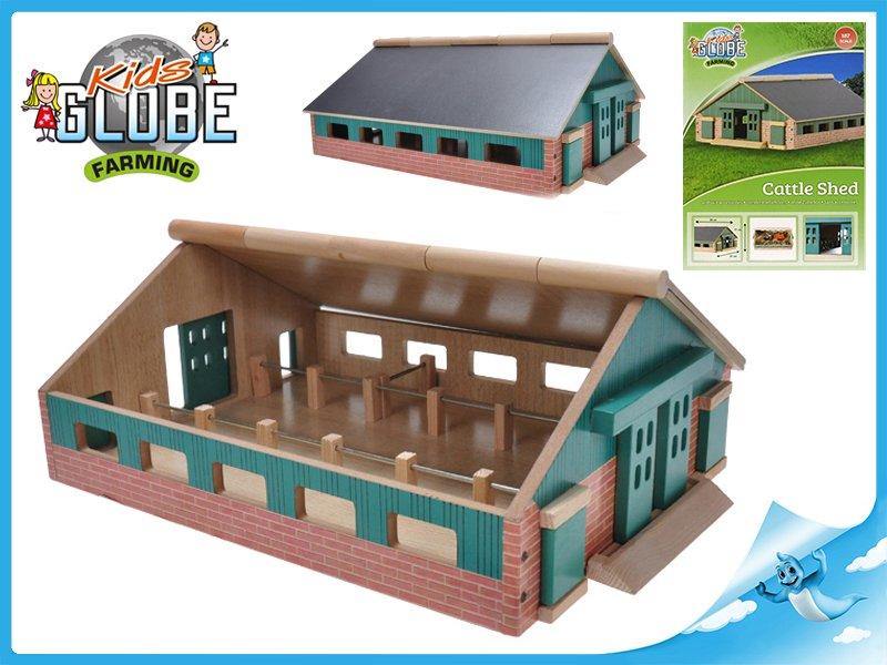 Dřevěná farma 1:87