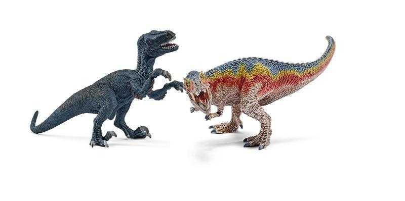 Schleich T-Rex a Velociraptor