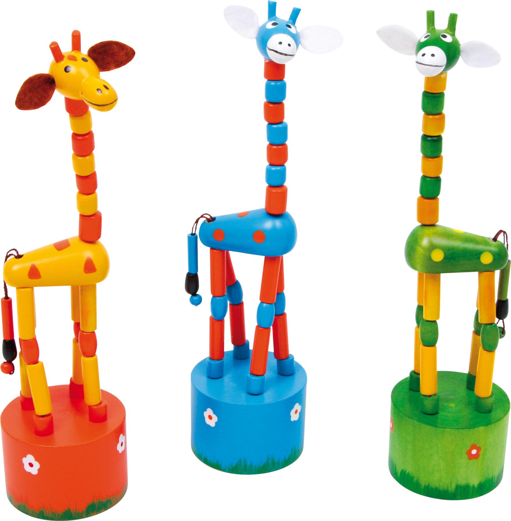 Small Foot Tančící žirafy Alfies set 3 ks