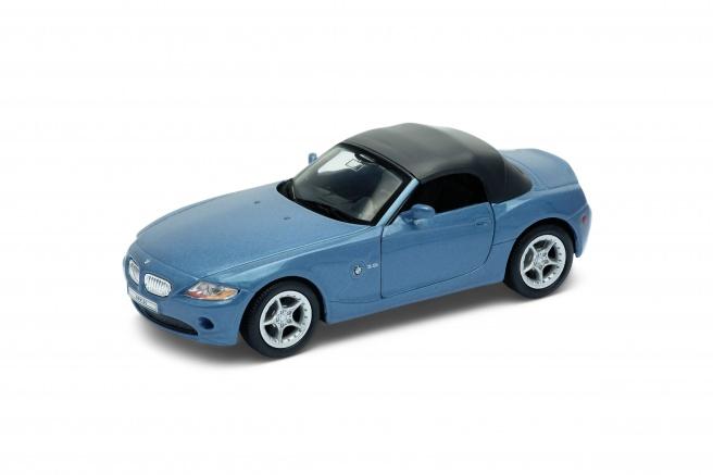 Welly BMW Z4 model 1:34 modré