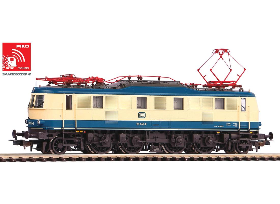 Piko Elektrická lokomotiva BR 118 se zvukem a dekodérem IV - 51868