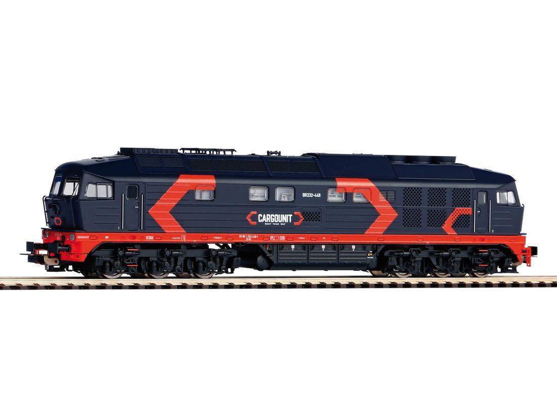 Piko Dieselová lokomotiva 232 Cargounit VI - 52772