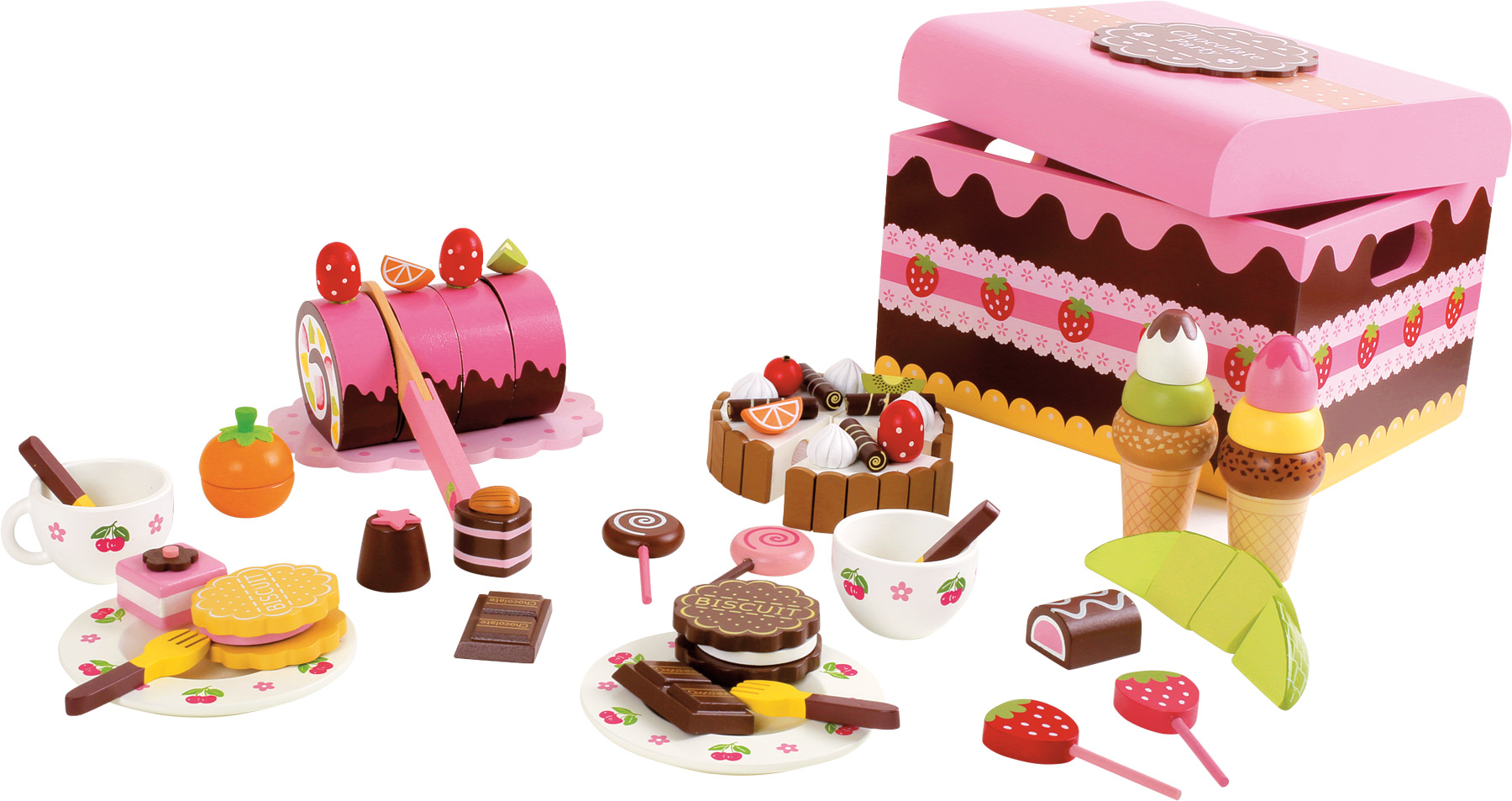 Small Foot Box dřevěné sladkosti
