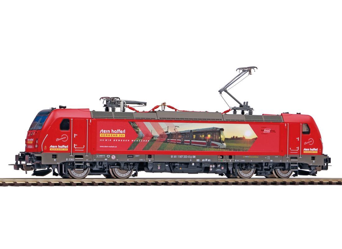 Piko Elektrická lokomotiva BR 187 Stern & Hafferl VI - 51584
