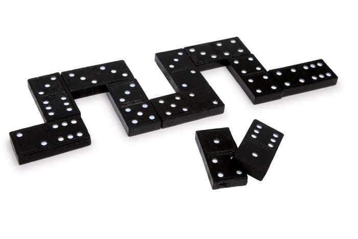 Small Foot Domino Nostalgia