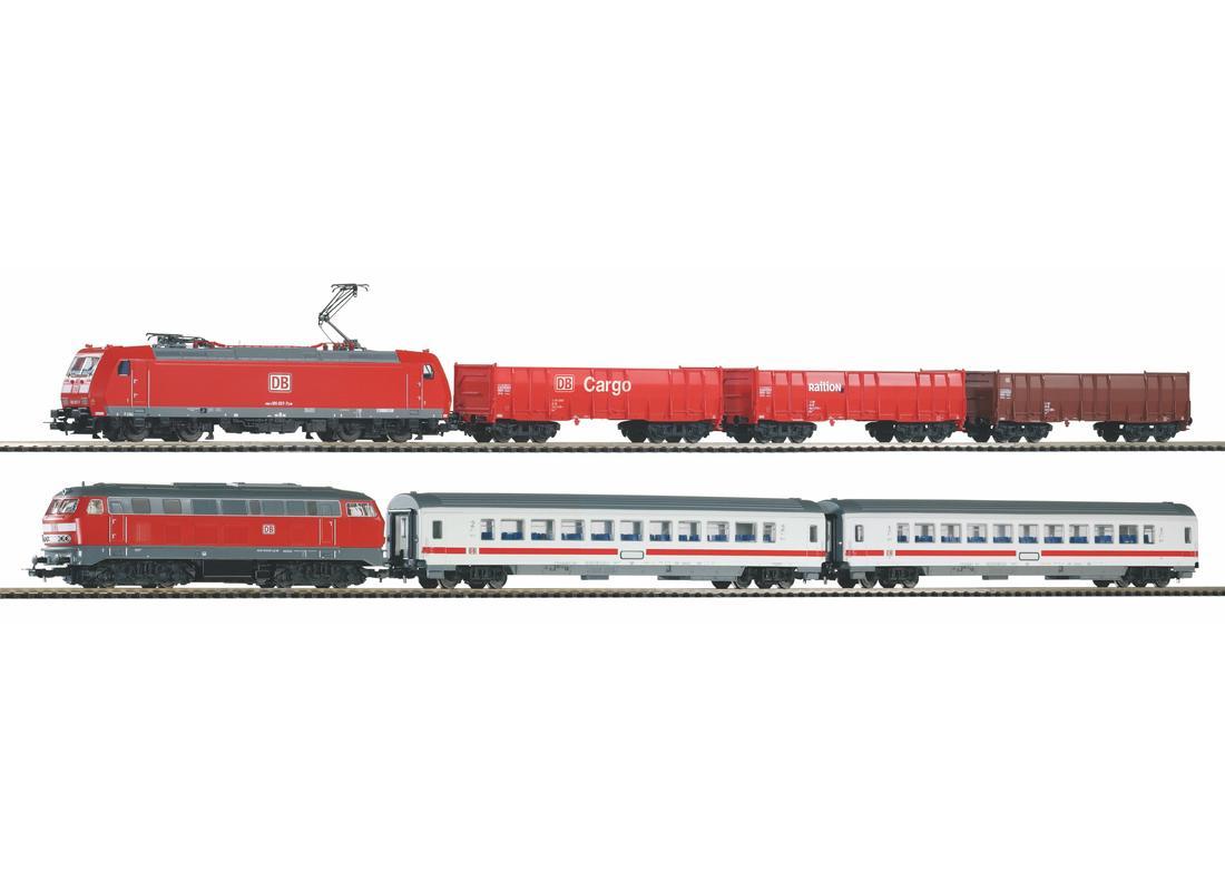 Piko Startovací sada s osobním a nákladním vlakem VI - 59013