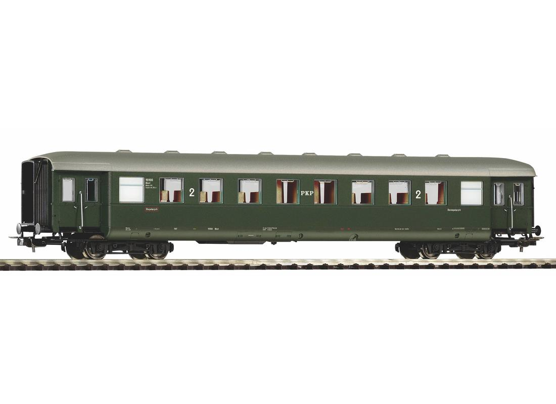 Piko Osobní vagón 2.třídy PKP III - 53282