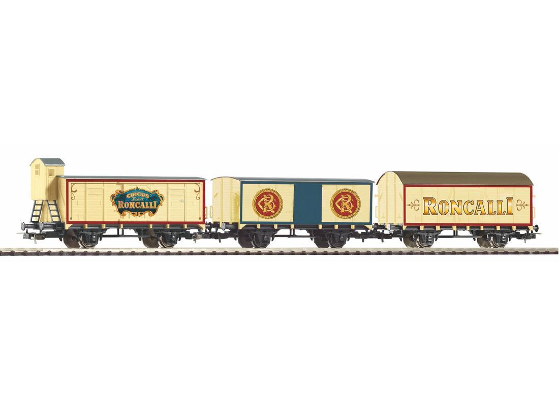 Piko Set 3 nákladních vagónů Roncalli III - 58374