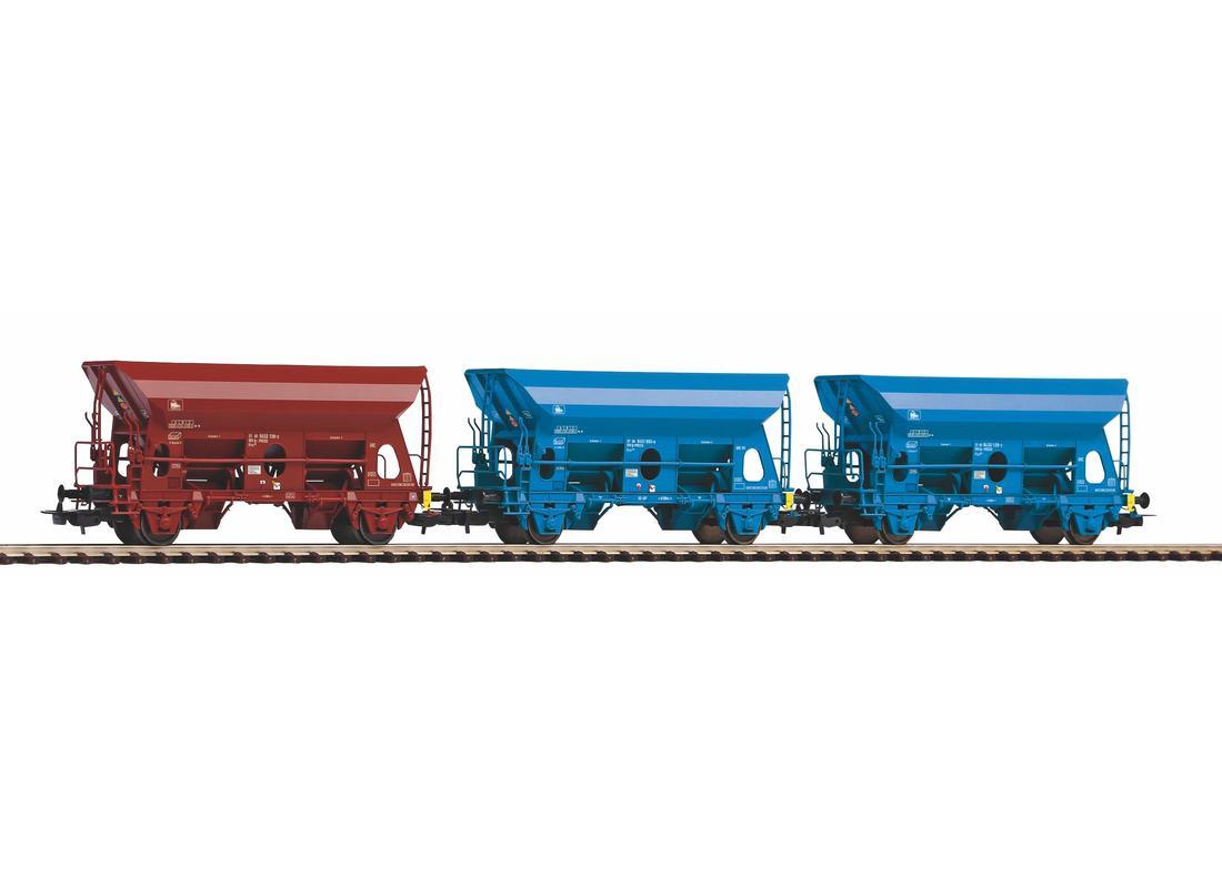 Piko Set 3 nákladních vagónů Fc PRESS VI - 58377