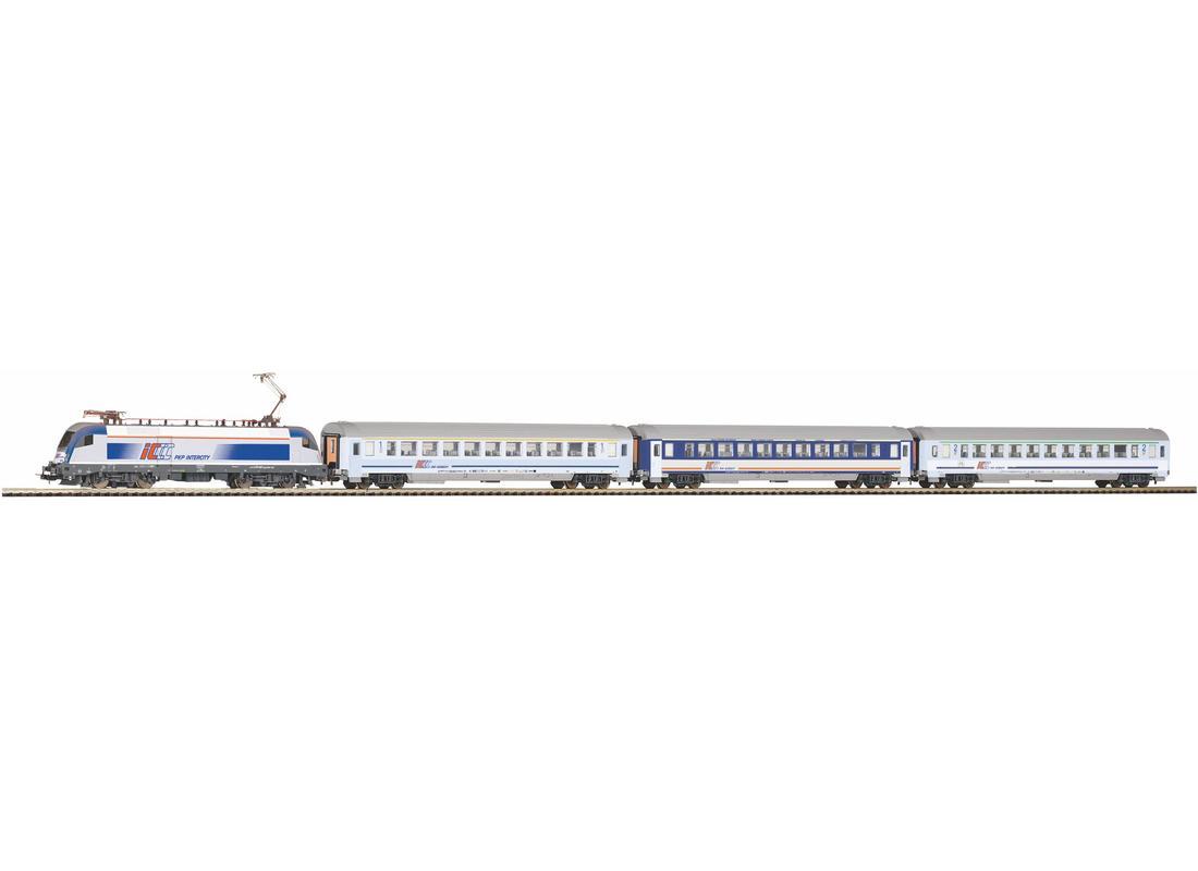 Piko Startovací sada osobní vlak Taurus IC s 3 vagóny PKP VI - 97931