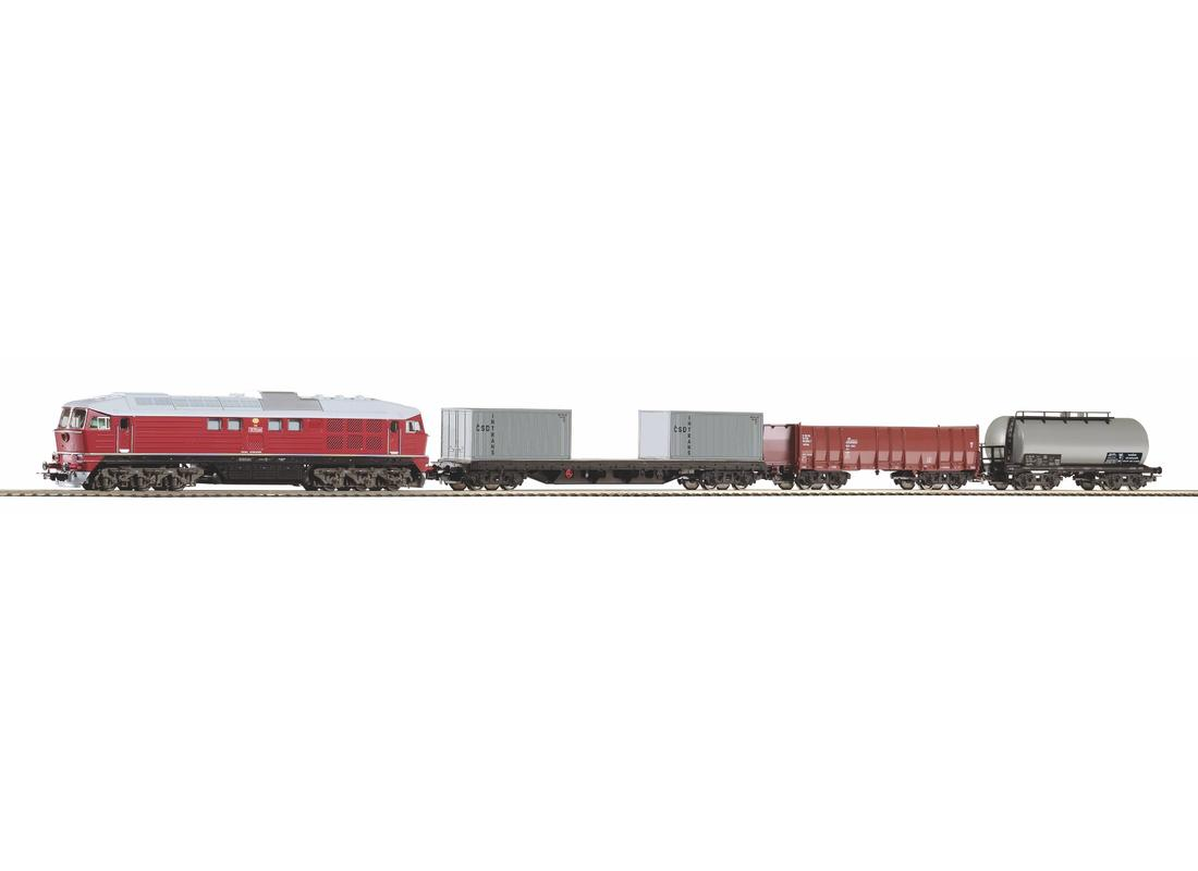 Piko Startovací sada nákladní vlak BR 130 CSD IV - 97935